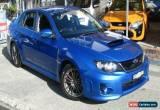 Classic 2011 Subaru WRX MY12 (AWD) Blue Manual 5sp M Sedan for Sale