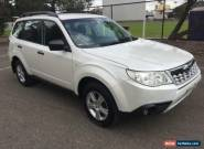 2012 Subaru Forester MY12 X Luxury Edition White Automatic 4sp A Wagon for Sale