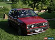 VW Golf mk2 1.3 for Sale