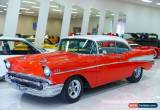 Classic 1957 Chevrolet Bel-Air 210 Red Automatic A Coupe for Sale