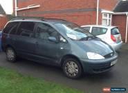 2003 FORD GALAXY LX TDI BLUE CAR MOT DIESEL 7 SEATER  for Sale