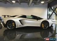 2016 Lamborghini Aventador Aventador SV Superveloce ROADSTER for Sale