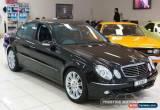Classic 2005 Mercedes-Benz E280 211 MY06 Upgrade Avantgarde Black Automatic 7sp A Sedan for Sale