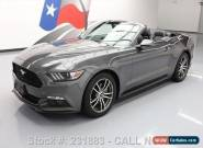 2016 Ford Mustang ECOBOOST PREM CONVERTIBLE LEATHER for Sale