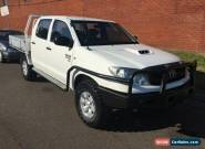 2008 Toyota Hilux KUN26R 08 Upgrade SR (4x4) White Manual 5sp M for Sale