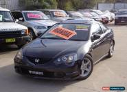 2003 Honda Integra Luxury Black Manual 5sp M Coupe for Sale
