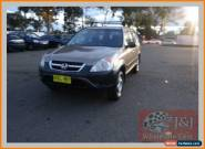 2002 Honda CR-V MY02 (4x4) Gold Automatic 4sp A Wagon for Sale