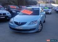 2008 Mazda 3 BK MY08 Neo Sport Sky Blue Automatic 4sp A Hatchback for Sale