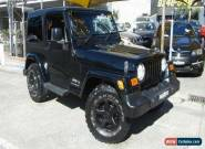 2006 Jeep Wrangler SPORT 4X4 65TH ANNIVERSARY Black Manual M for Sale