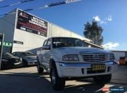 2005 Mazda B4000 Bravo SDX (4x4) White Manual 5sp M Dual Cab Pick-up for Sale