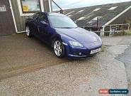 STUNNING MAZDA RX8 6 MILES 12 MONTHS MOT BLUE VGC 2006 NEW TYRES & BATTERY for Sale