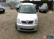 Vauxhall Meriva 1.2 Life spares or repair for Sale