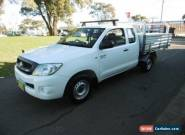 2010 Toyota Hilux GGN15R 09 Upgrade SR White Automatic 5sp A Extracab for Sale