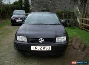 2003 VOLKSWAGEN BORA TDI SPORT BLACK for Sale