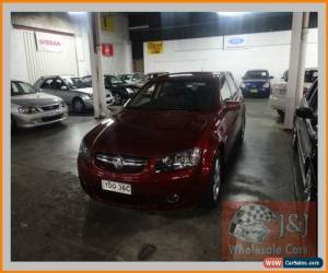 Classic 2006 Holden Berlina VE Burgundy Automatic 4sp A Sedan for Sale