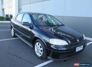 2005 Holden Astra TS MY05 Classic Equipe Black Automatic 4sp A Sedan for Sale