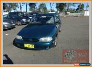 1998 Ford Festiva WF Trio Green Automatic 3sp A Hatchback for Sale