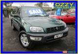 Classic 1999 Toyota RAV4 (4x4) Green Automatic 4sp A Wagon for Sale