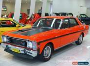 1970 Ford Falcon XW GT Brambles Red Manual 4sp M Sedan for Sale