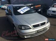 2004 Holden Astra TS City Silver Automatic 4sp A Hatchback for Sale