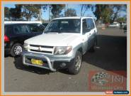 2001 Mitsubishi Pajero QA IO (4x4) White Manual 5sp M Wagon for Sale