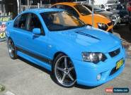 2006 Ford Falcon BF MkII XR8 Bionic Blue Automatic 6sp A Sedan for Sale