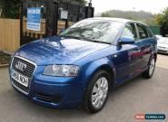 Audi A3 2.0 TDI SPORTBACK 170PS Blue 5 Door Long MOT for Sale