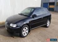 1998 AUDI A3 1.6 BLACK *GEARBOX & CLUTCH PROBLEM* *12 MONTH MOT* for Sale