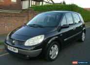 2004 RENAULT SCENIC 1.4 DYNAMIQUE 16V BLACK for Sale