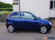2004 VAUXHALL CORSA ENERGY 1.2 16V BLUE for Sale
