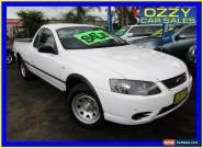 2006 Ford Falcon BF MkII RTV (LPG) White Automatic 4sp A Utility for Sale
