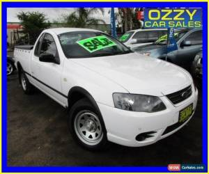 Classic 2006 Ford Falcon BF MkII RTV (LPG) White Automatic 4sp A Utility for Sale