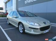 2007 Peugeot 407 MY06 Upgrade ST HDI Touring Comfort Gold Automatic 6sp A Wagon for Sale