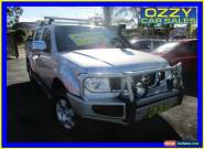 2008 Nissan Navara D40 ST-X (4x4) Silver Manual 6sp M Dual Cab Pick-up for Sale