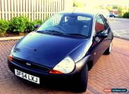 2005 FORD KA 3 DOOR HATCHBACK IN MET BLUE ONLY 2 PREVIOUS LADY OWNERS for Sale