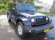 2013 Jeep Wrangler JK MY2014 Unlimited Overland Blue Automatic 5sp A Hardtop for Sale