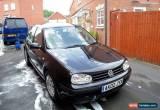 Classic 2002 Volkswagen Golf TDI SE Black VW for Sale