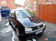 2002 Volkswagen Golf TDI SE Black VW for Sale