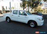 2010 Toyota Hilux GGN15R 09 Upgrade SR White Automatic 5sp A Dual Cab Pick-up for Sale