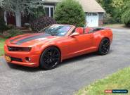 2011 Chevrolet Camaro 2SS Convertible for Sale
