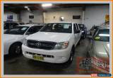 Classic 2006 Toyota Hilux GGN15R 06 Upgrade SR White Automatic 5sp A Dual Cab Pick-up for Sale