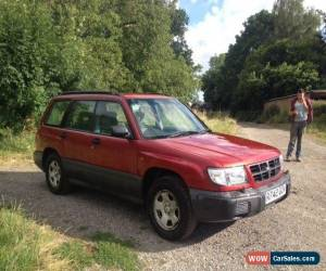 Classic 1997 SUBARU FORESTER GLS MAROON for Sale