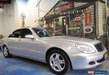 Classic 2005 Mercedes-Benz S350 V220 MY05 L Zircon Silver Automatic 5sp A Sedan for Sale