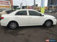 2012 Toyota Corolla ZRE152R MY11 Ascent White Automatic 4sp A Sedan for Sale
