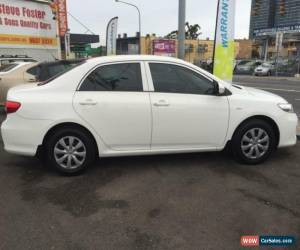 Classic 2012 Toyota Corolla ZRE152R MY11 Ascent White Automatic 4sp A Sedan for Sale