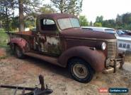 1940 Chevrolet Other Pickups for Sale