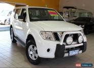 2011 Nissan Pathfinder R51 MY08 ST White Manual M Wagon for Sale
