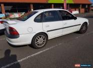 1998 VAUXHALL VECTRA SRI 140 Saloon WHITE for Sale