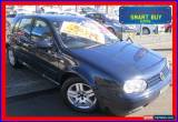 Classic 2003 Volkswagen Golf 1.6 Generation Black Automatic 4sp A Hatchback for Sale