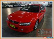 2004 Holden Commodore VZ SV6 Red Automatic 5sp A Sedan for Sale